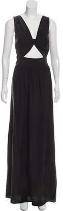 L'Agence Sleeveless Maxi Dress w/ Tags