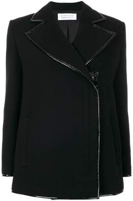 Gianluca Capannolo off centre fastening jacket