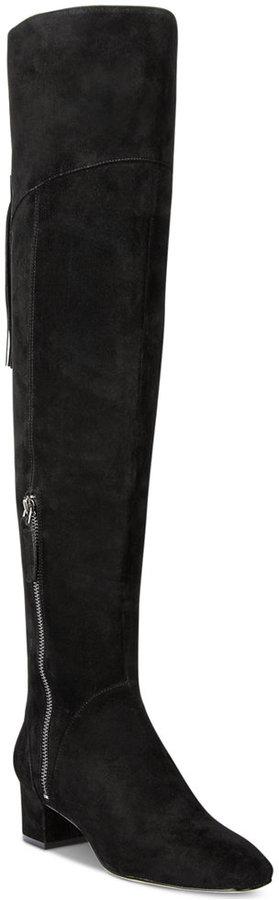 Nine WestNine West Anilla Zipper Over-The-Knee Block-Heel Boots