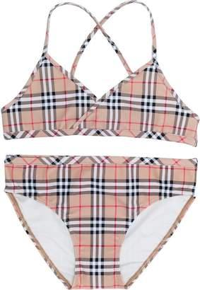 Burberry TEEN check bikini