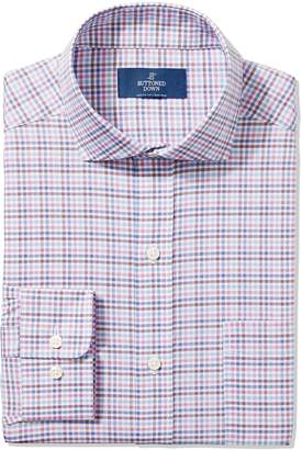 Buttoned Down Men's Classic Fit Cutaway-Collar Non-Iron Dress Shirt