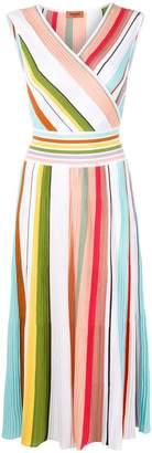 Missoni striped sleeveless midi dress