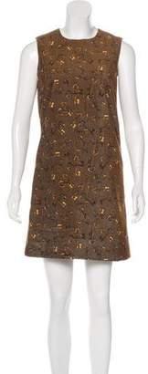 Dolce & Gabbana Key Print Mini Dress