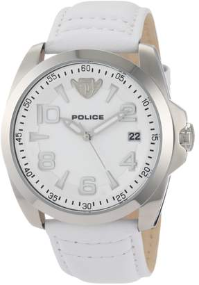 Police Men's PL-12157JS/01 Sovereign Dial Leather Watch