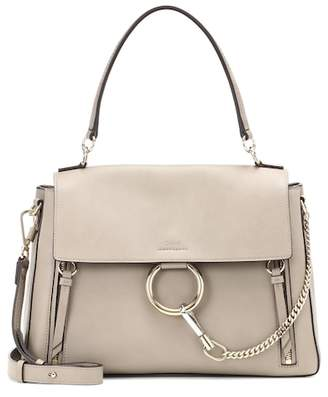 0a122d437120 ... at mytheresa Chloé Medium Faye Day leather shoulder bag for whole  family 35c89 0a014 ...