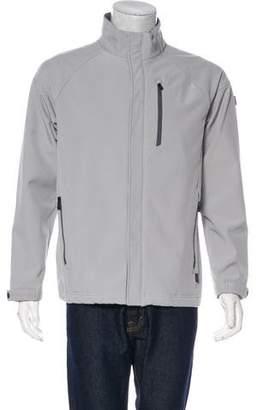 Tumi Woven Zip-Up Jacket
