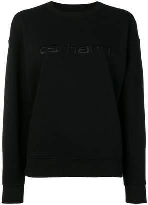 Carhartt Heritage embroidered logo sweatshirt