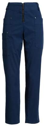 Kenneth Cole New York Zip Front Ankle Pants