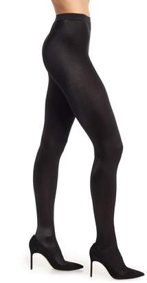 Wolford 'Satin de Luxe' Backseam Tights
