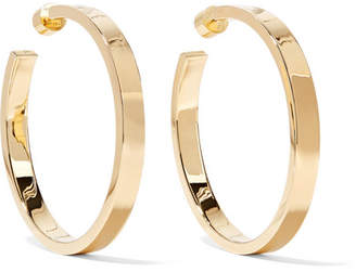 Kate Gold-plated Hoop Earrings
