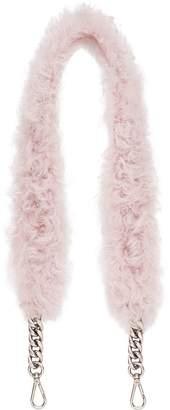 Miu Miu (ミュウミュウ) - Miu Miu detachable shearling shoulder strap