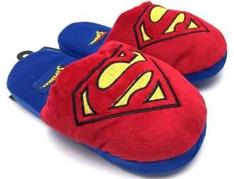 DC Comics Superman Logo 3D Plush Slippers | M