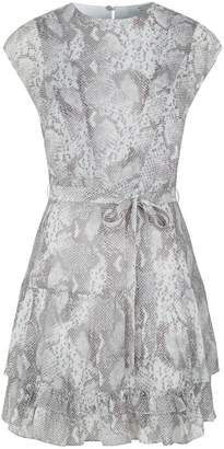 AllSaints Evely Snake Print Dress