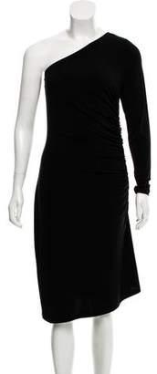 MICHAEL Michael Kors One Shoulder Evening Dress