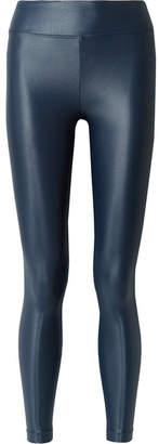 Koral Lustrous Stretch Leggings - Midnight blue