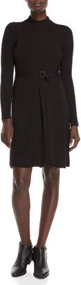 Roberto Collina Belted Wool Sweater Dress