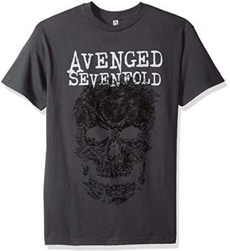 FEA Men's Avenged Sevenfold Adult Short Sleeve T-Shirt