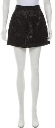 Balenciaga Pleated Mini Skirt