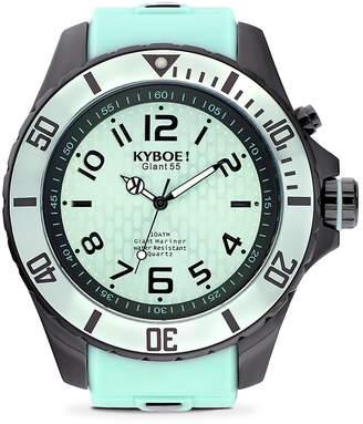 KYBOE! Men's Black Series Stainless Steel Strap Watch