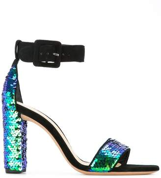 Alexandre Birman sequin embellished sandals