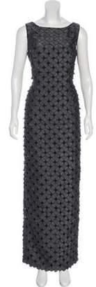 Carmen Marc Valvo Sleeveless Maxi Dress Sleeveless Maxi Dress