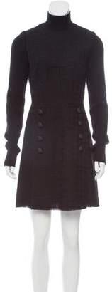 Dolce & Gabbana Virgin Wool Tweed Dress w/ Tags