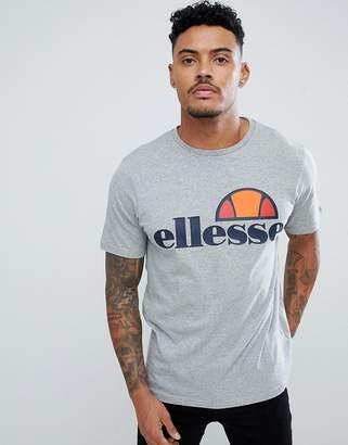 Ellesse T-Shirt With Classic Logo In Gray