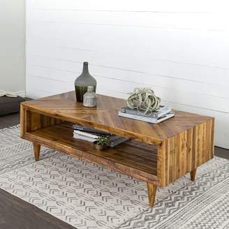 Superbe At West Elm · West Elm Alexa Reclaimed Wood Coffee Table