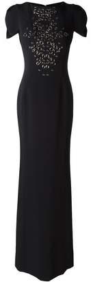 Antonio Berardi embellished front gown