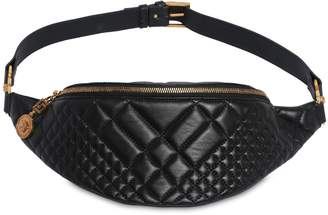 Versace Quilted Leather Belt Pack