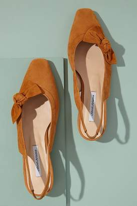 About Arianne Galo Bow-Detailed Suede Heels