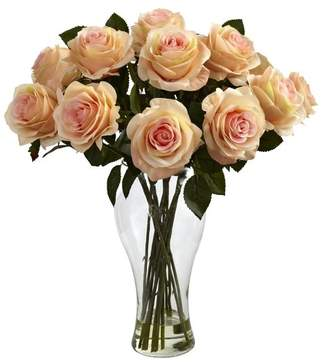 Three Posts Shire Roses in Vase