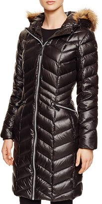 Marc New York Long Puffer Coat $265 thestylecure.com