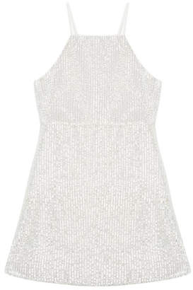 Bardot Junior Averly Sequined Slip Dress, Size 8-16