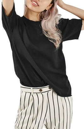 Women's Topshop Distressed Edge Tee $20 thestylecure.com