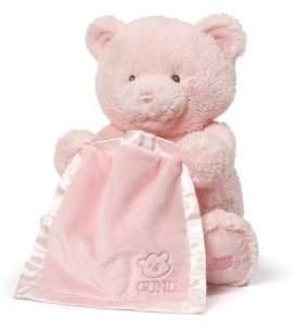 Gund Pink My First Teddy Peek-A-Boo