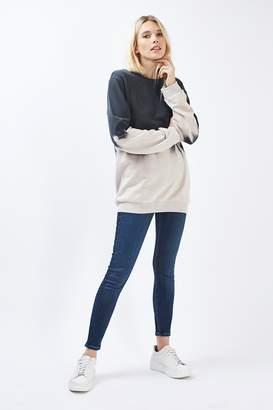 Topshop Womens Tall Indigo Jamie Jeans - Black