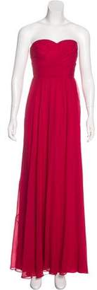 Aidan Mattox Silk Evening Dress