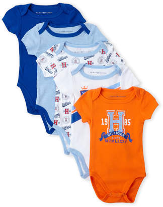 Tommy Hilfiger Tommy Newborn/Infant Boys) 5-Pack Bodysuits