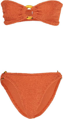 Hunza G Gloria Printed Strapless Bikini
