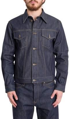 Calvin Klein Jeans Trucker Selvedge Denim Jacket