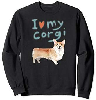 Corgi I Love My Sweatshirt