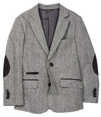 Isaac Mizrahi Solid Tweed Blazer (Toddler, Little Boys, & Big Boys)