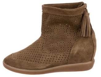 Isabel Marant Suede Beslay Sneakers