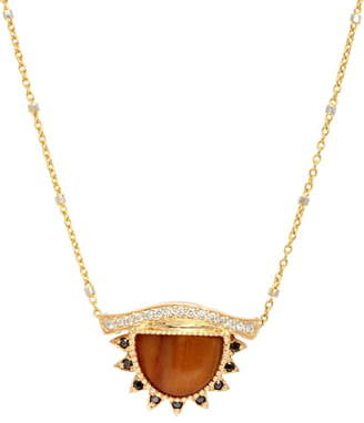 Conges 'Provide a Calm & Clearer Vision' Small Third Eye Necklace