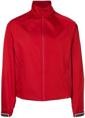 Prada gabardine nylon bomber jacket