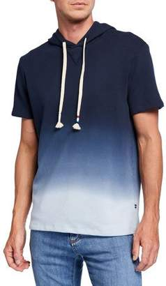 Sol Angeles Men's Ombre Short-Sleeve Pullover Hoodie