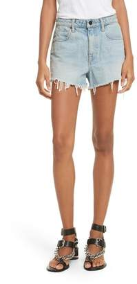 Alexander Wang T by Denim x Bite Light Denim Shorts