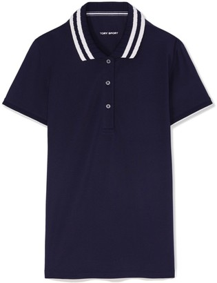 16af0b9c3 Navy Polo With Red Collar - ShopStyle