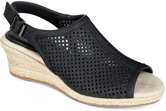 Easy Street Shoes Stacy Wedge Sandals Women Shoes